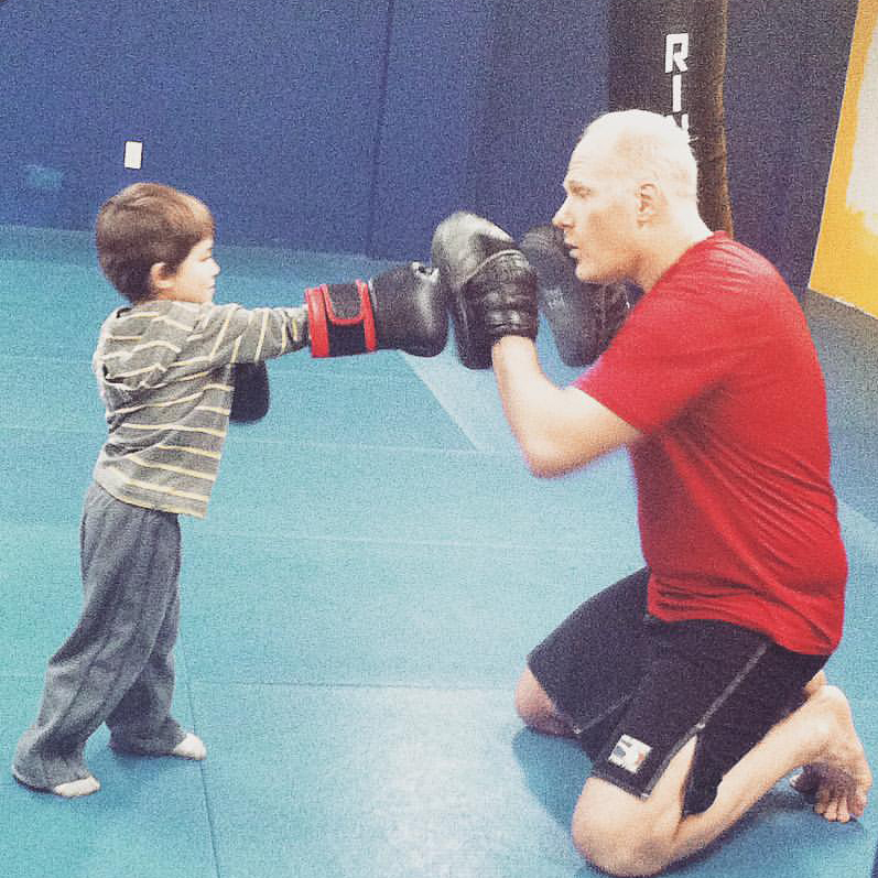 Kids 4-6 Martial Arts Garwood Fight and Fitness MMA