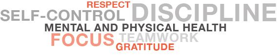 Warrior Kids Program RESPECT DISCIPLINE FOCUS TEAMWORK